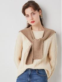New arrival Knitted shawl +Sweater