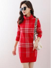 Fashion style Slim Knitted Dress