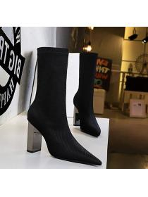 Sexy European fashion Winter High heels Boots