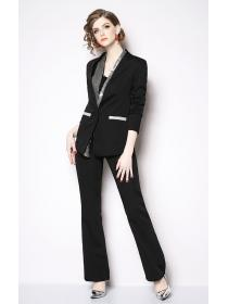 New arrival OL fashion Nobel Two pieces suits