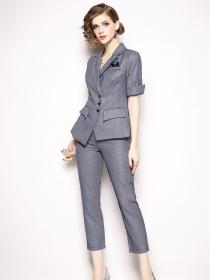 New arrival European style OL Two pieces suits