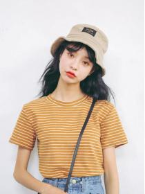New arrival Stripes Summer fashion T-shirt