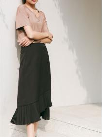 On sale New style Irregular Long skirt