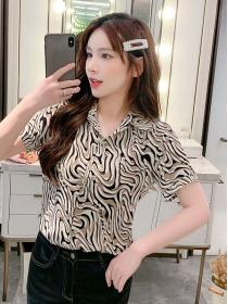New arrival Matching Korean Blouse