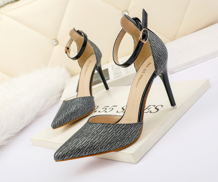 Outlet Point toe OL  High Heel Shoes