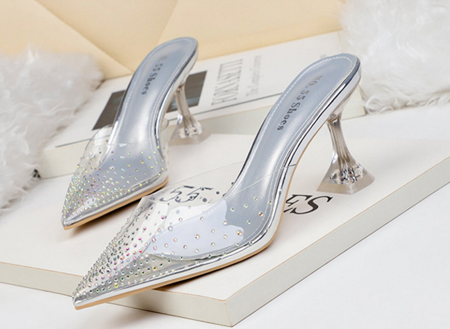 Outlet Transparent Uppers Fashion style Slipper