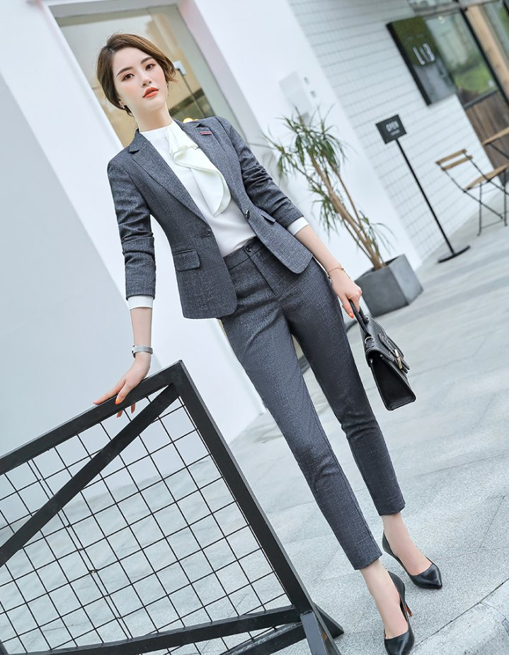 Overalls business suit skirt 3pcs set for women
